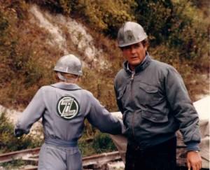 A View To A Kill - Tanya Roberts and Roger Moore