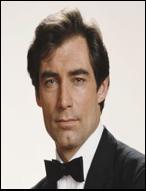 Timothy Dalton as the 6th actor to play Bond.