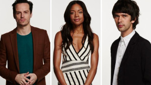 Andrew Scott, Naomie Harris, and Ben Whishaw. Peraps if Scott's character survives, he could be the main antagonist