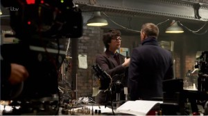 Ben Whishaw as Q with 007