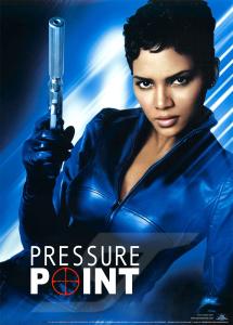 Artwork for Bond spinoff film, Pressure Point, starring Jinx