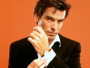 Pierce Brosnan as James Bond. This time for real.