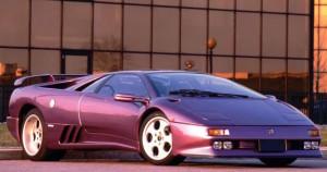 Connie Webb's Lamborghini Diablo