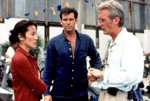 TOMORROW NEVER LIES, Michelle Yeoh, Pierce Brosnan, Roger Spttiswoode,1998