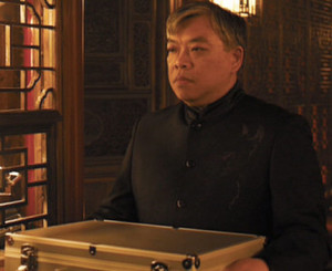 Sid's character from Skyfall has been promoted within the underworld.