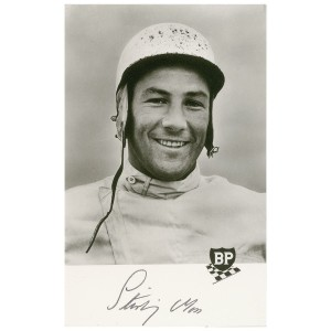 """Stirling Moss, the popular British race driver Fleming had initially intended to included in """"Murder on Wheels"""""""