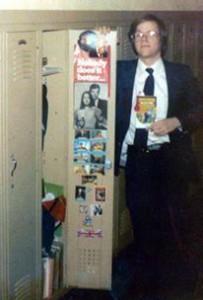 Jeffrey's Locker in High School