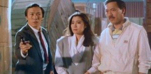 Michelle Yeoh in The Owl VS Bumbo, 1984