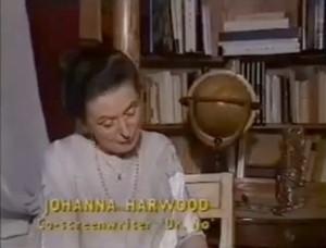 Johanna Harwood.