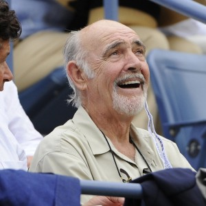 Sean Connery at the US Open, 2012