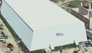 Ken Adam's purpose built soundstage for The Spy Who Loved Me and still being used to this day.