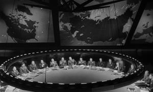 The War Room from Kubrick's Dr Strangelove