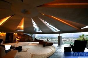 John Lautner's Elrod House that was used for Diamonds Are Forever