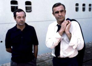 Guy Hamilton and Sean Connery