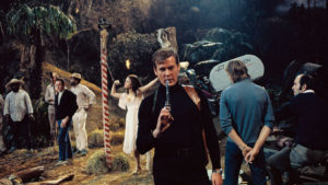 On the set of Live and Let Die